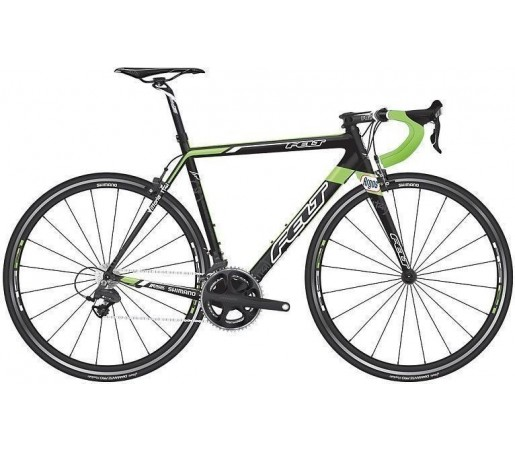 Cursiera Felt F4 Team Issue Negru/Verde 2013