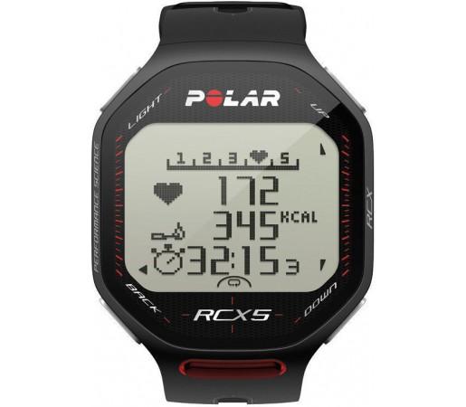 Ceas Polar RCX5 GPS cu centura HRM Negru