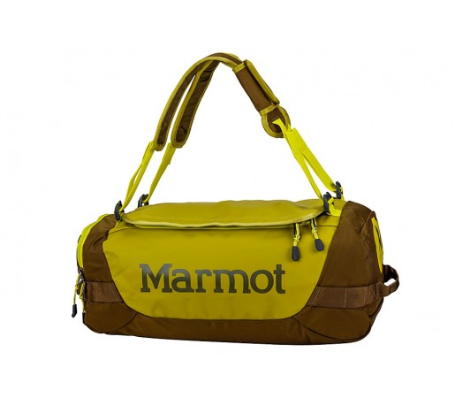 Geanta de Umar Marmot Long Hauler Duffle 38L Galbena/Maro S