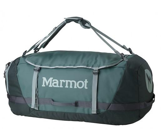 Geanta de Umar Marmot Long Hauler Duffle 110L Verde XL