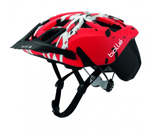 Casca ciclism Bolle The One Mountain Bike Neagra/Rosie