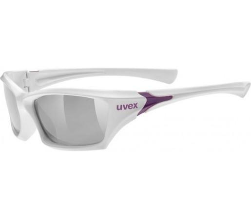 Ochelari sport Uvex Sportstyle 501 Junior Alb/Mov