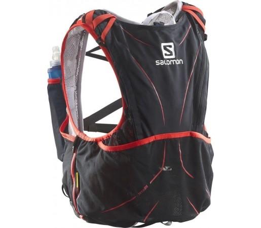 Rucsac Salomon S-LAB Advanced Skin Hydro 12 Set Negru/Rosu