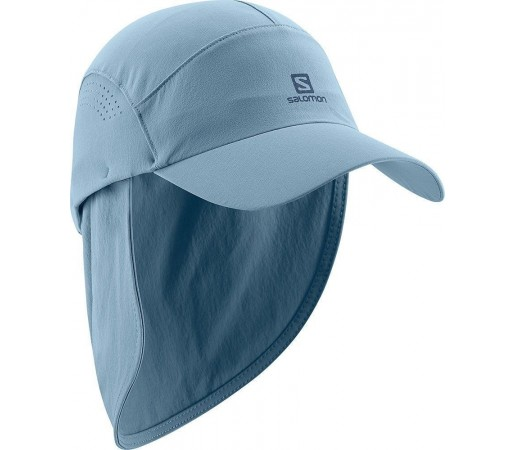 Sapca Salomon Softshell Neck Cap Blue