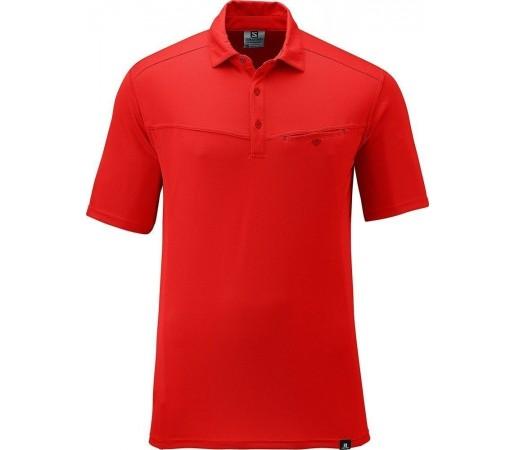 Tricou Salomon Manabi Polo M Red