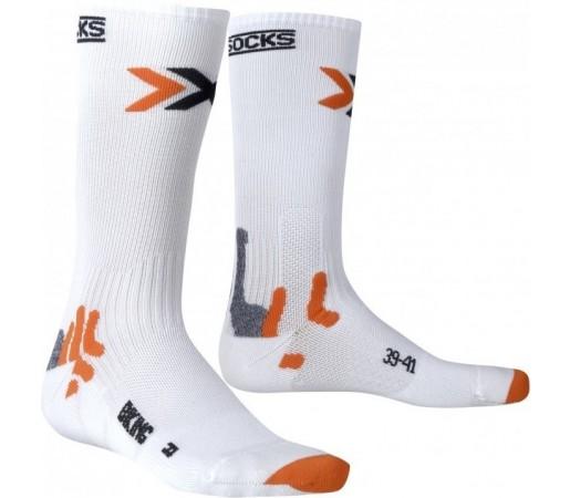 Sosete X-Socks Bike Mid Energizer White