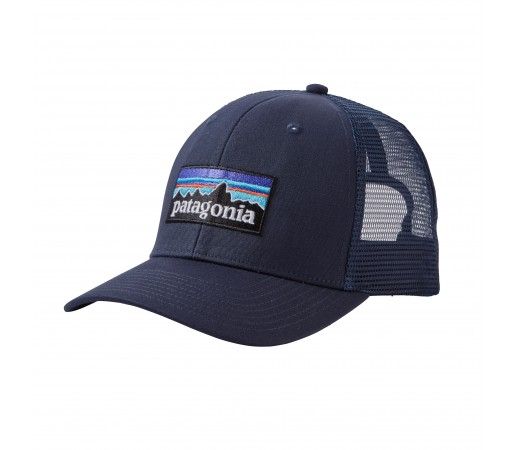 Sapca Patagonia P-6 Logo Trucker Albastru