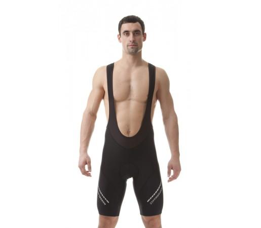 Pantaloni ciclism cu bretele Nordblanc Fuss Dryfor Negri