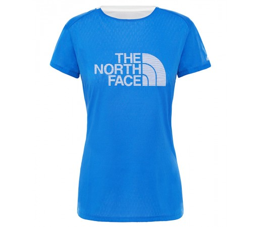 Tricou Femei Alergare The North Face Flight Series Better Than Naked Albastru