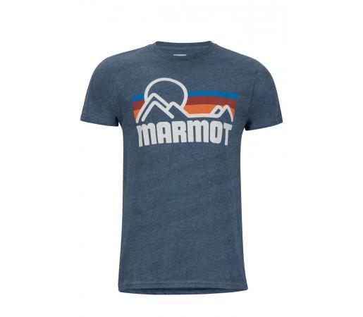 Tricou Marmot Coastal Tee SS M Bleumarin
