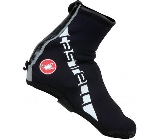 Husa pantofi ciclism Castelli Diluvio All Road Negru/Alb
