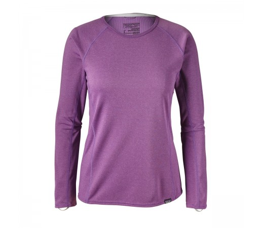 Bluza First Layer Femei Hiking Patagonia Capilene Midweight Crew Mov