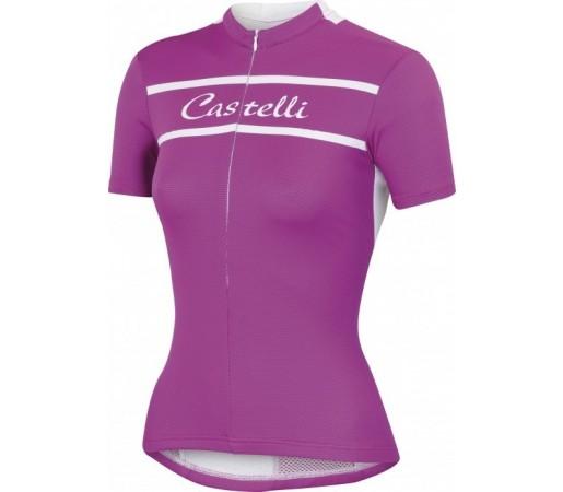 Tricou ciclism Castelli Promessa Violet
