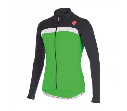 Bluza Ciclism Castelli Criterium FZ M Gri / Verde