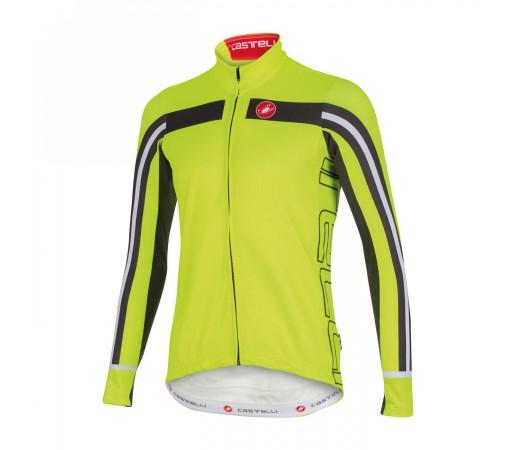 Bluza Ciclism Castelli Free 3 M Verde-Fluo