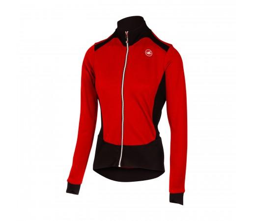 Bluza Ciclism Castelli Sciccosa W Rosu / Negru