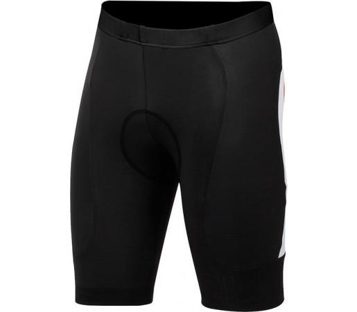 Pantaloni ciclism Castelli Evoluzione Negru/Alb