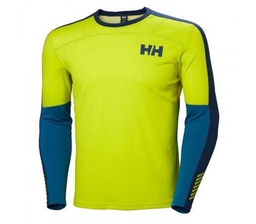 Bluza First Layer Barbati Helly Hansen Hh Lifa Active Crew Verde