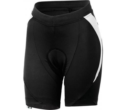 Pantaloni ciclism Castelli Palmares Due Negru/Alb