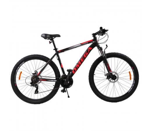 "Bicicleta Mountain Bike Omega Thomas 27.5"" Negru / Rosu"