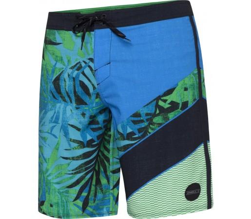 Boardshorts O'Neill PM Jordy Freak Out Albastru/Verde