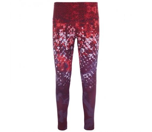 Pantaloni The North Face W Super Waist Leggings Visiniu/Mov