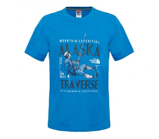 Tricou The North Face M S/S Expedition Albastru