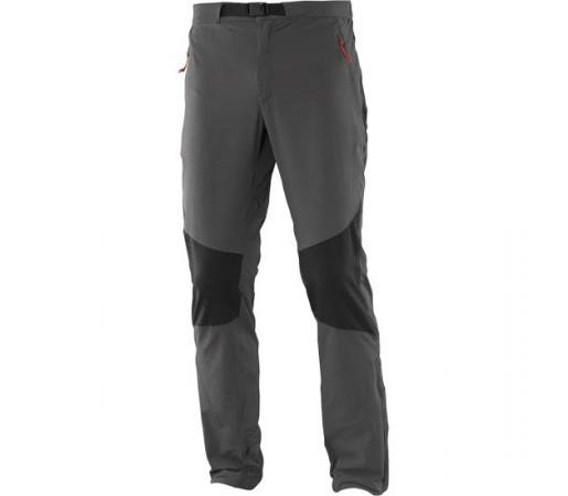 Pantaloni Salomon  Wayfarer Mountain Gri/Negri
