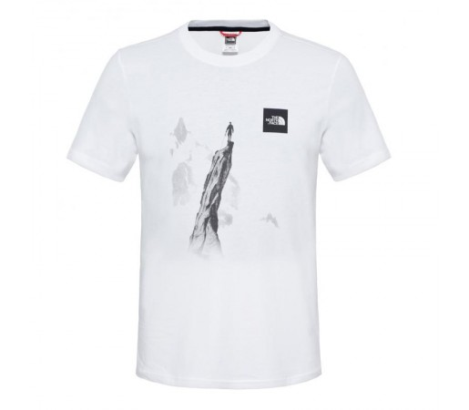 Tricou The North Face M S/S Week End Alb