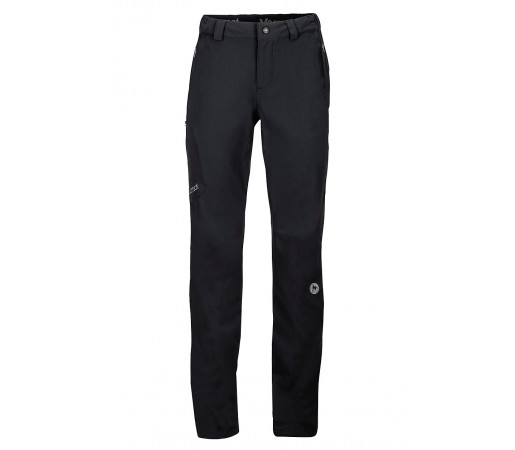 Pantaloni softshell Marmot W PCT Negri