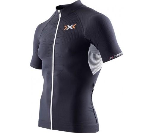 Tricou X-Bionic Biking Man THE TRICK OW SH-SL Full Zip Black