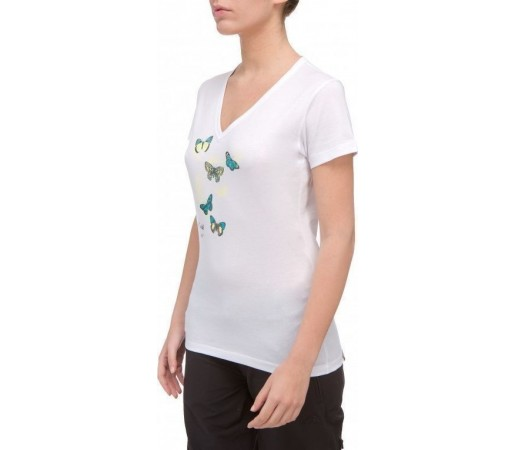 Tricou The North Face Marlene's Butterflies W White 2013