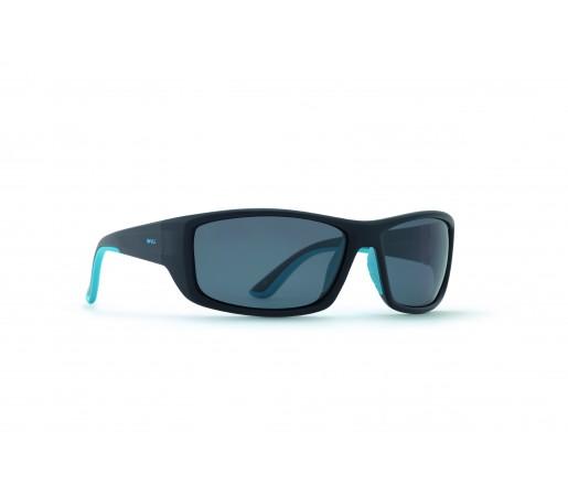 Ochelari de Soare Invu Active Collection M Matt Black / Blue - Solid Grey