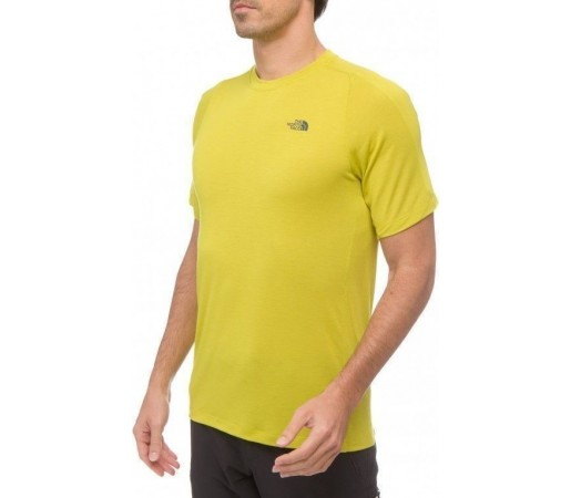 Tricou The North Face Horizon Crew M Citronelle Green 2013