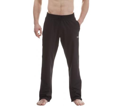 Pantaloni Nordblanc Adroit Men's Powerfleece Fitness Negru