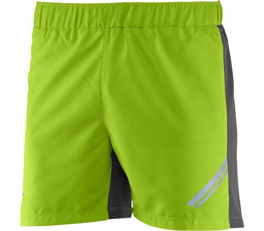 Pantaloni scurti Salomon Agile Short M Verde/Gri