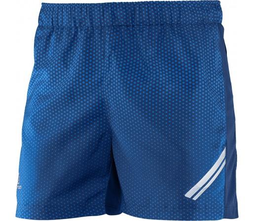 Pantaloni scurti Salomon Agile Short M albastru Inchis/Albastru Deschis