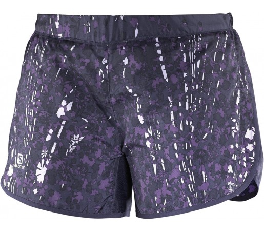 Pantaloni scurti Salomon Agile Short W Violet