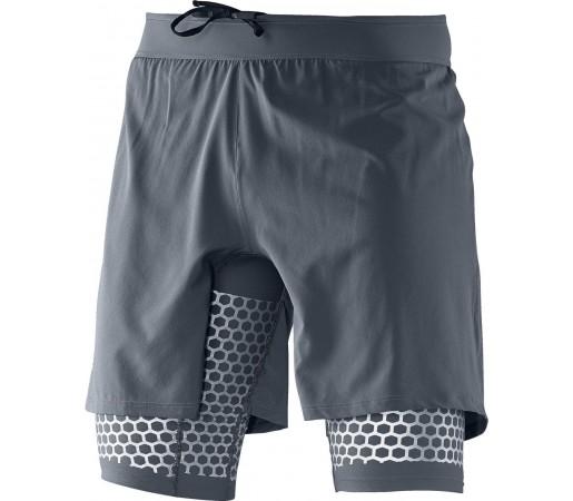 Pantaloni Scurti Salomon Exo Wings TW Short M Grey
