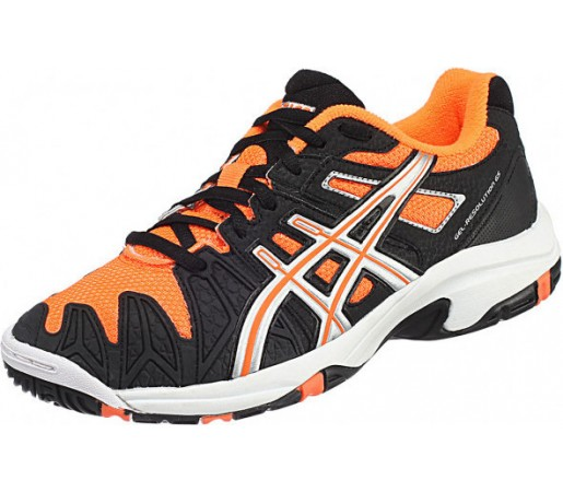 Incaltaminte Asics GEL Resolution 5 GS Negru/Portocaliu