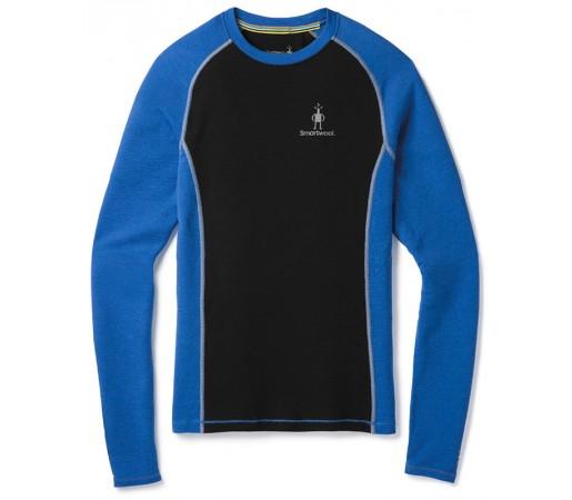 Bluza First Layer Barbati Smartwool Merino 200 L/S Albastru / Negru