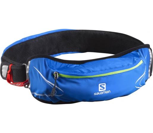 Curea alergare Salomon Agile 500 Belt Set Albastru/Verde