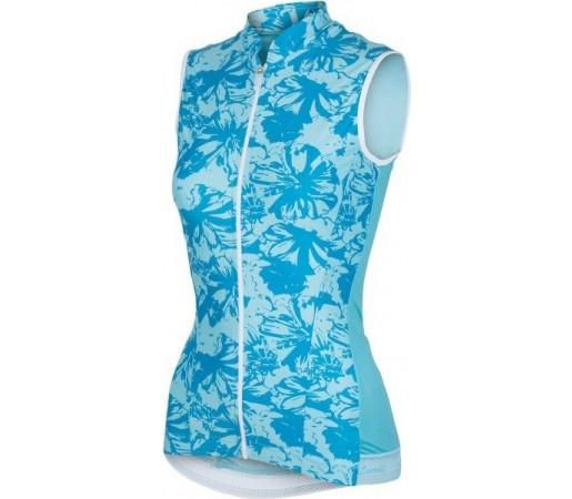 Tricou ciclism Castelli Bellissima Albastru