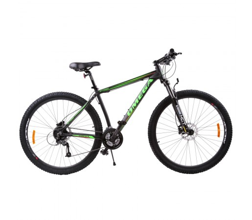 "Bicicleta Mountain Bike Omega Bettridge 29"" Negru / Verde"