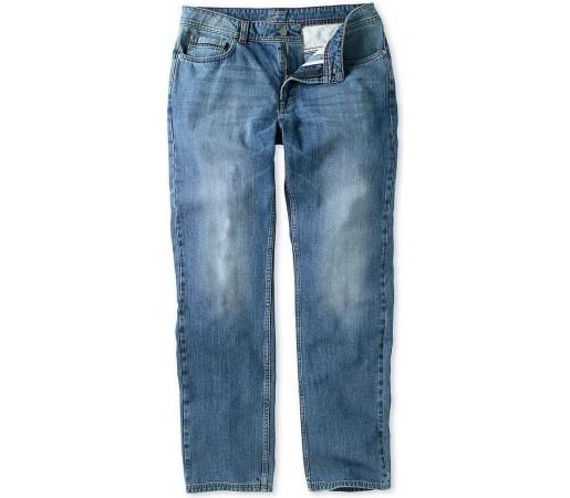 Pantaloni Crew Clothing Parker Straight Leg Light Wash