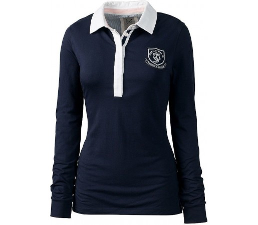 Bluza Crew Clothing Digby Rugby Navy