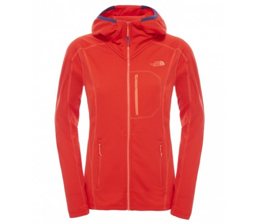 Polar The North Face W Incipent Hooded Rosu