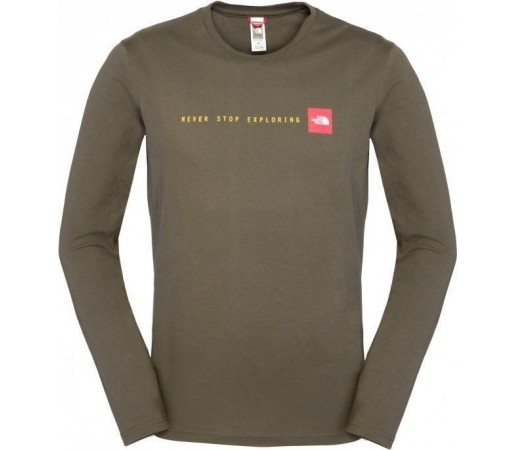 Bluza The North Face M NSE L/S Forest Green