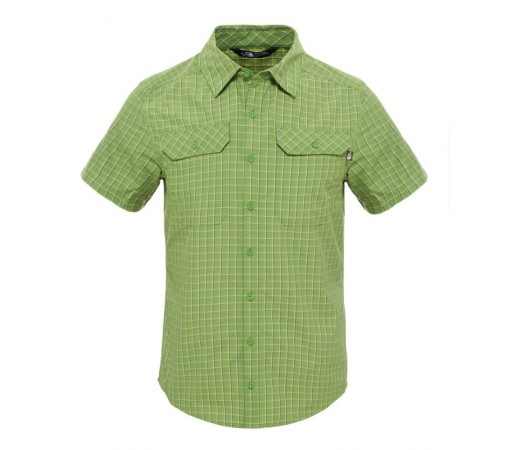 Camasa The North Face M SS Pine Knot Verde