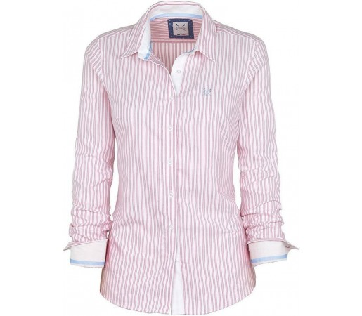 Camasa Crew Clothing Abby Clear Pink